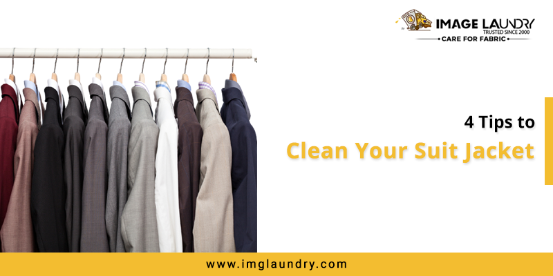 Tips to Clean your Suit Jacket