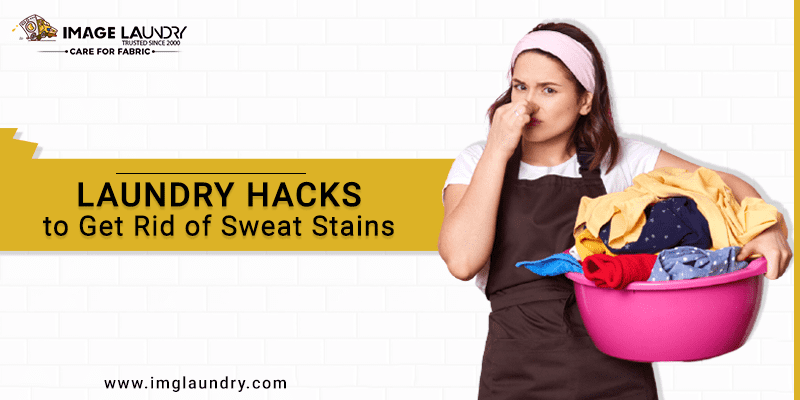 Laundry Hacks to Get Rid of Sweat Stains